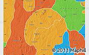 Political Map of Tsafe