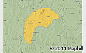 Savanna Style Map of Tsafe