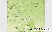Physical 3D Map of Yobe