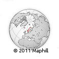 Outline Map of Norway