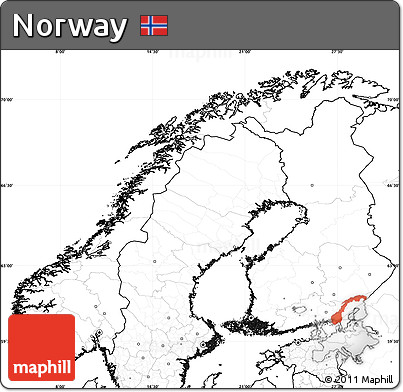 Free Blank Simple Map of Norway, no labels on map canada, map of asia without labels, us map without labels, map no letters, map italy, map senegal,