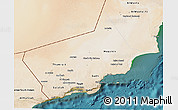 Satellite 3D Map of Dhofar