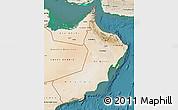 Satellite Map of Oman