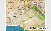 Satellite 3D Map of Pakistan