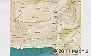 Satellite 3D Map of Baluchistan