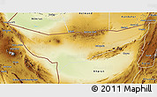 Physical 3D Map of Chagai
