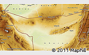 Physical Map of Chagai