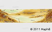 Physical Panoramic Map of Chagai