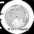 Outline Map of Kachhi