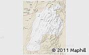 Classic Style 3D Map of Kalat