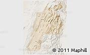 Satellite 3D Map of Kalat, lighten
