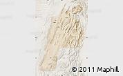 Satellite Map of Kalat, lighten