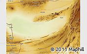 Physical 3D Map of Kharan