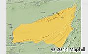 Savanna Style 3D Map of Kharan