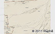 Shaded Relief 3D Map of Kharan