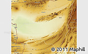 Physical Map of Kharan