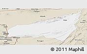 Classic Style Panoramic Map of Kharan