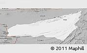 Gray Panoramic Map of Kharan