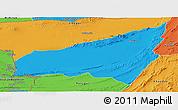 Political Panoramic Map of Kharan