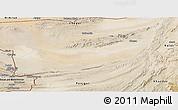 Satellite Panoramic Map of Kharan