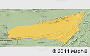 Savanna Style Panoramic Map of Kharan