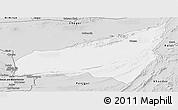 Silver Style Panoramic Map of Kharan