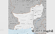 Gray Map of Baluchistan