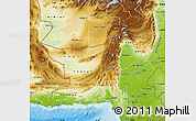 Physical Map of Baluchistan