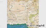 Satellite Map of Baluchistan