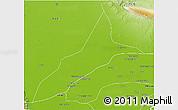 Physical 3D Map of Nasirabad
