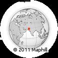 Outline Map of Nasirabad