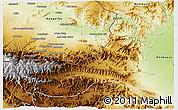 Physical 3D Map of Khyber