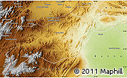 Physical Map of N. Waziristan