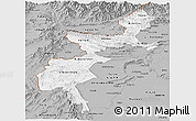 Gray Panoramic Map of F.A.T.A.
