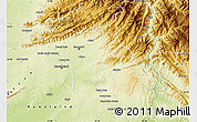 Physical Map of Islamabad