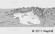 Gray Panoramic Map of F.C.T.