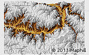 Physical 3D Map of Chilas