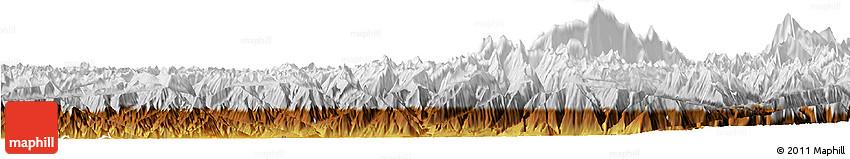 Physical Horizon Map of Chilas