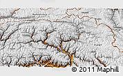 Physical 3D Map of Gilgit