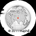 Outline Map of Gilgit