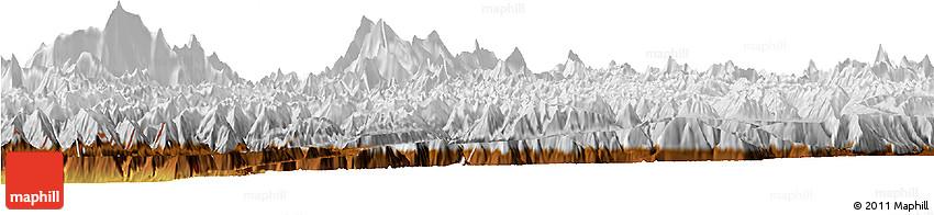 Physical Horizon Map of Kupwara (Gilgit Wazarat)