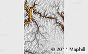 Physical Map of Kupwara (Gilgit Wazarat)