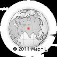 Outline Map of Kupwara (Gilgit Wazarat)