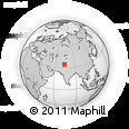 Outline Map of Kupwara (Muzaffarabad)