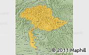 Savanna Style Map of Jammu and Kashmir