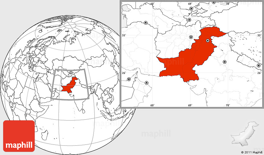 Asia Quiz ProProfs Quiz - Pakistan map quiz