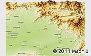 Physical 3D Map of Mardan