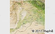 Satellite 3D Map of Punjab