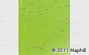 Physical 3D Map of Bahawalpur