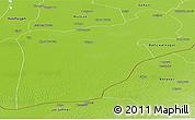 Physical Panoramic Map of Bahawalpur